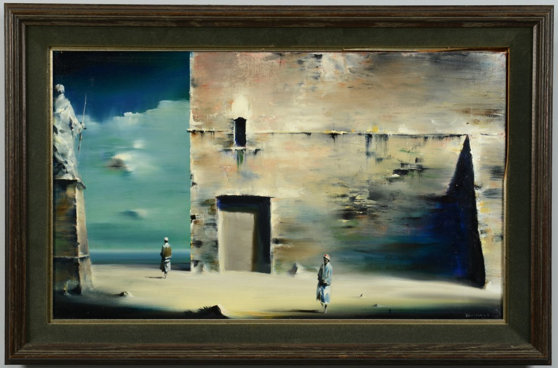 Robert Watson (American) surreal landscape painting - 2