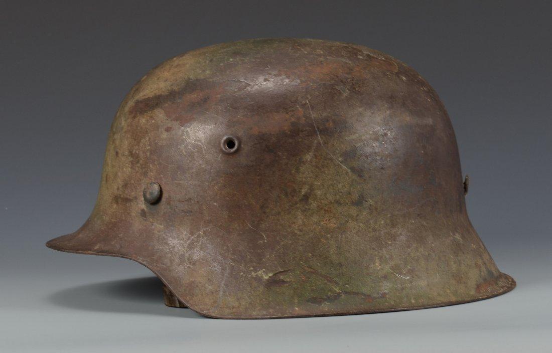 German M42  Helmet w/ Camouflage - 2