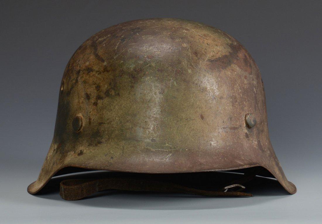 German M42  Helmet w/ Camouflage - 3