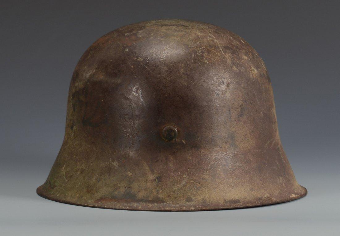 German M42  Helmet w/ Camouflage - 5