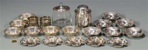 Misc. Sterling Items, 21 pcs. inc. butter pats