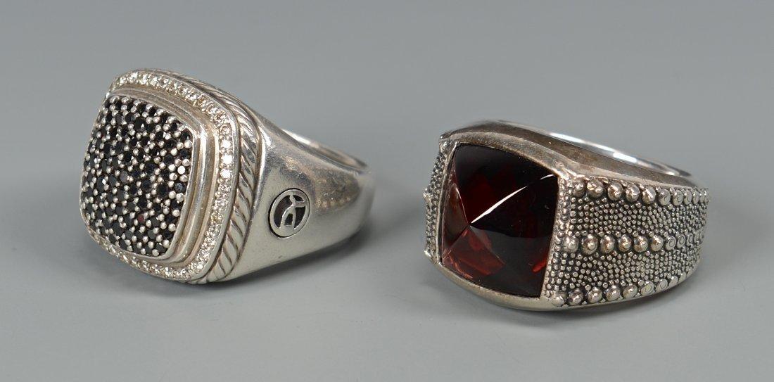 2 David Yurman Men's rings