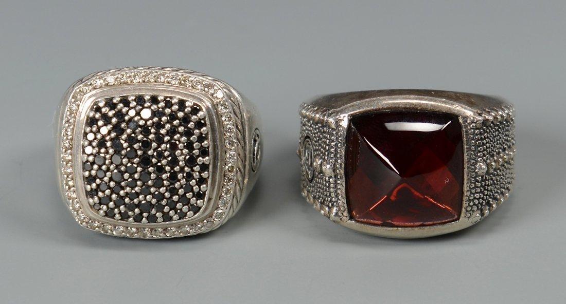 2 David Yurman Men's rings - 2