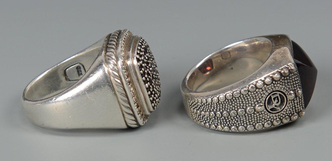 2 David Yurman Men's rings - 4