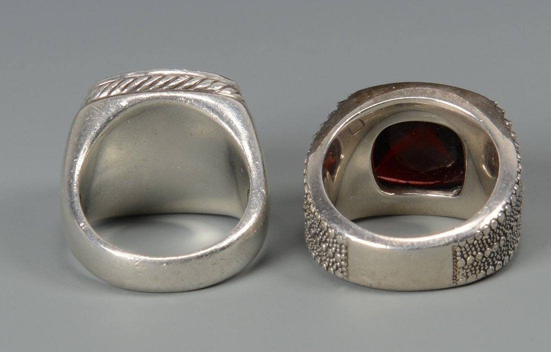 2 David Yurman Men's rings - 5