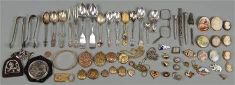 Misc Vintage Sterling & Jewelry