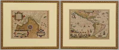 Two Mercator / Hondius Maps