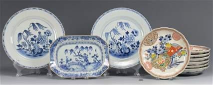 10 pcs Chinese & Japanese Porcelain