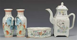 Grouping of early 20th c. Chinese Porcelain