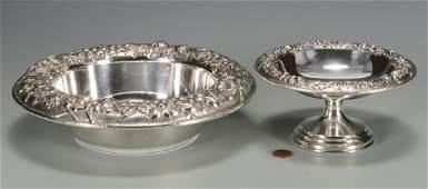 2 Kirk & Son Repousse Bowls