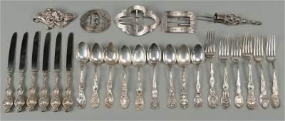 Art Nouveau Sterling Silver, incl Unger