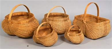 5 Cannon County Signed Baskets