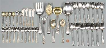 Assorted Sterling flatware 40 pcs