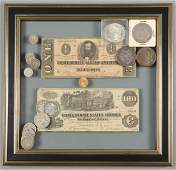 CSA Currency, Silver & 1 Gold Coin