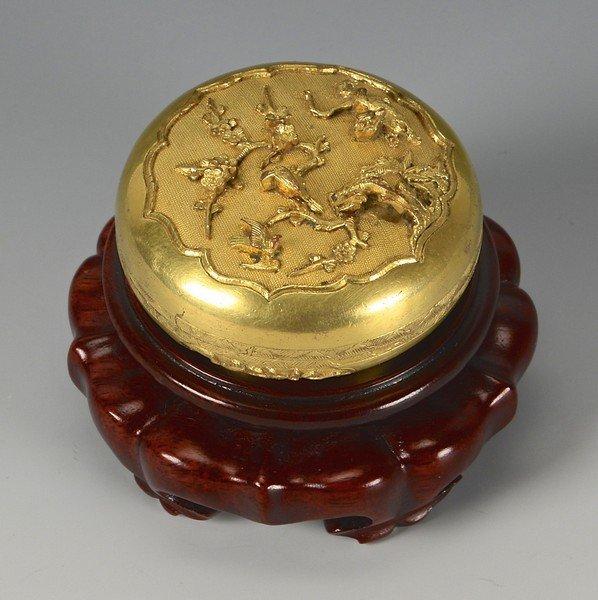Chinese Stamp Ink Box