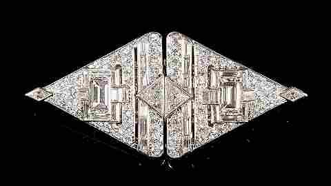 George Headley 11 cts Diamond Brooch or Pendant