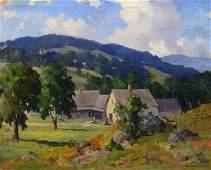 Marian Parkhurst Sloane o/c Landscape Painting