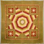 Adams or Berks County Quilt Star of Bethlehem Pattern