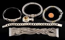 Designer Sterling Jewelry incl Yurman