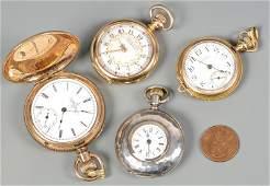 4 Ladies Pocket Watches