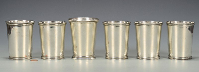 5 Sterling Silver Julep Cups