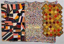 3 East TN Quilts, incl. Crazy, Penny and Crochet