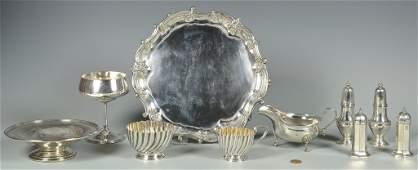 Assd Edwardian Silver inc Salver