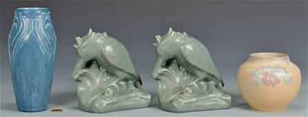 Group of 4 Pcs. Rookwood Art Pottery