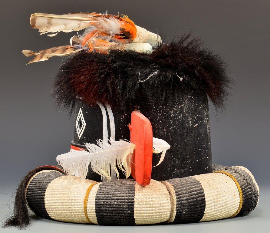 Hopi Left Hand Hunter Kachina Mask & Doll - 4