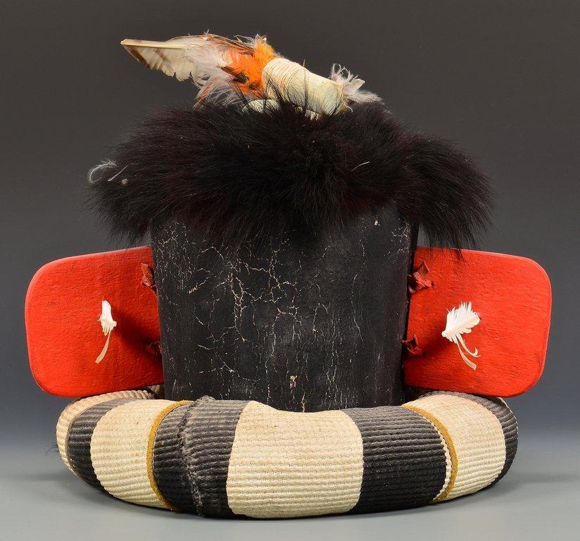 Hopi Left Hand Hunter Kachina Mask & Doll - 5