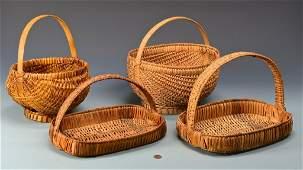 4 Cherokee Split Oak Baskets