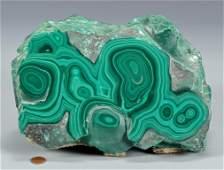Large Malachite Free form Mineral Specimen