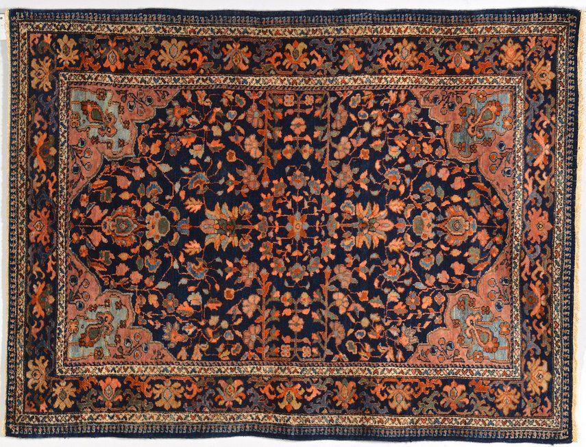 Persian Lilihan area rug, circa 1920