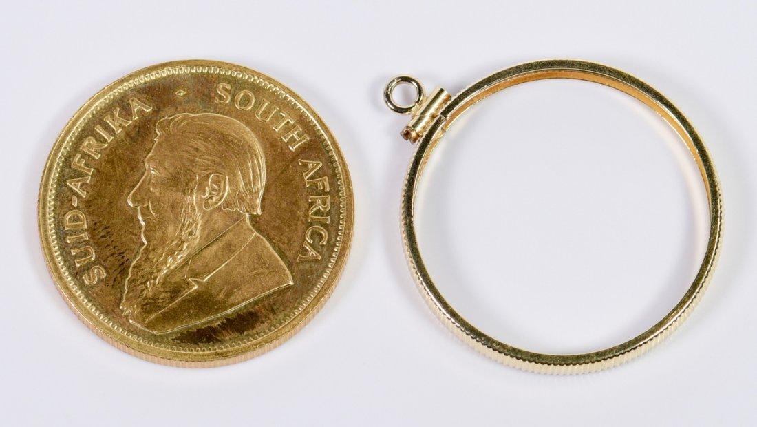 1977 Krugerrand 1 oz Fine gold coin