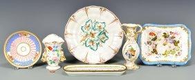 Group Of Continental Porcelain, 6 Pcs.