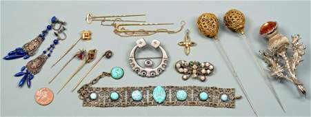 Group of Ladies Gold & Costume Jewelry