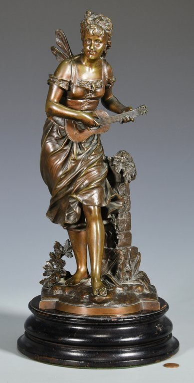 Eutrope Bouret Bronze Nymph