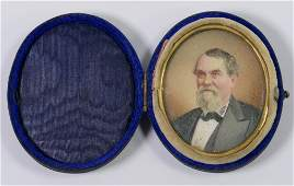 TN Miniature Portrait of Man, Calvert