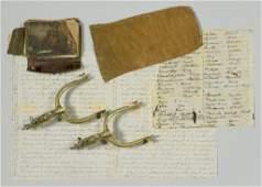 Gold Rush Diary, Artifacts of Ed Hicks, TN