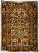 Antique Persian Sarouk Rug 35 x 48