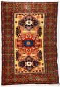 Antique Persian Senneh area rug 46 x 69