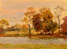 G Stepanyants oil on canvas Landscape