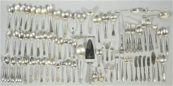 75 pcs Sterling Silver Flatware