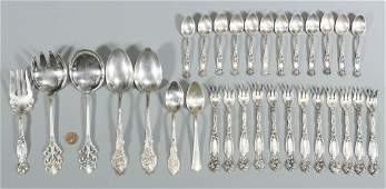 Assorted Vintage Sterling Flatware 31 Pcs