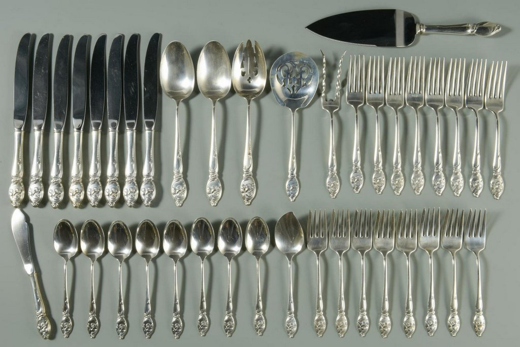 Westmoreland Enchanted Orchid Sterling Flatware
