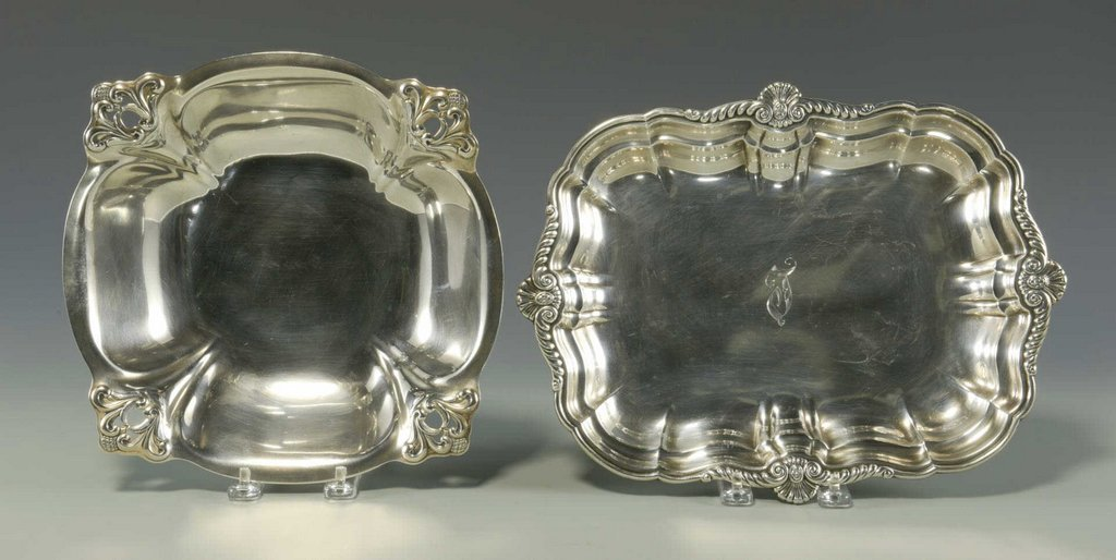 International Sterling Silver Tray & Royal Danish