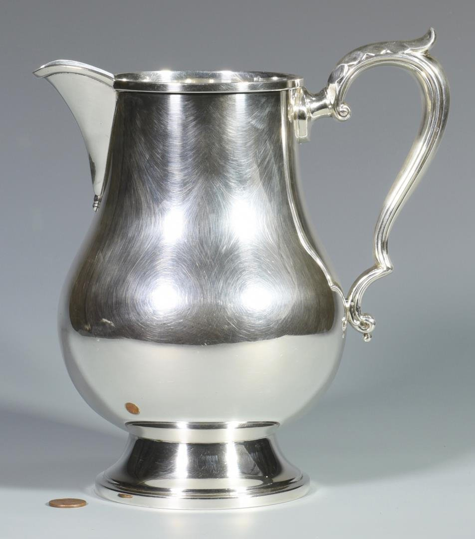 Fisher Sterling Silver Water Pitcher