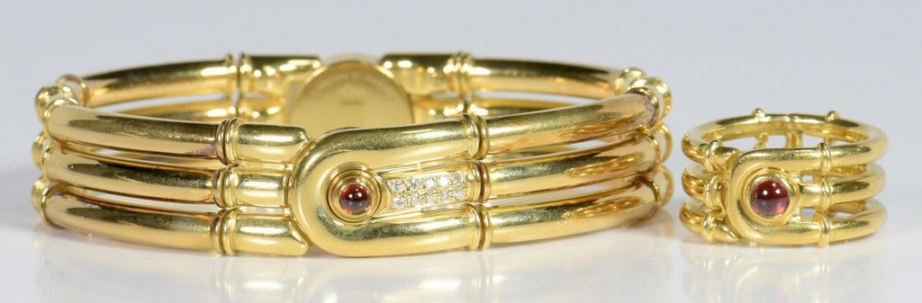 Di Modolo 18K Ring and Bracelet Set
