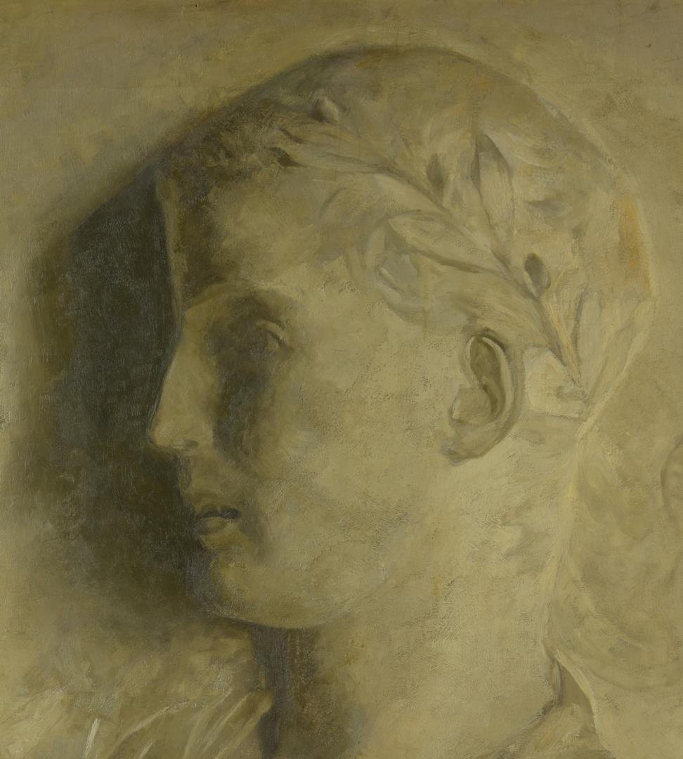 O/C Portrait of Roman Statesman or Ruler - 2