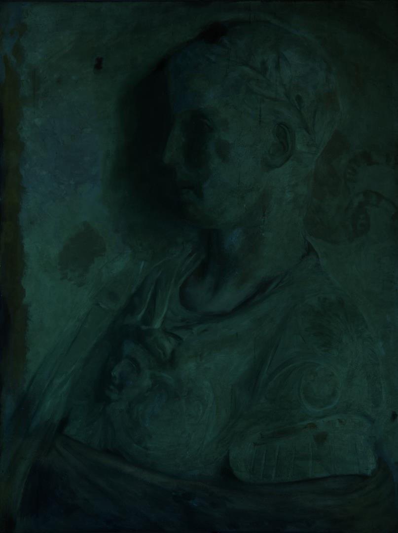O/C Portrait of Roman Statesman or Ruler - 5